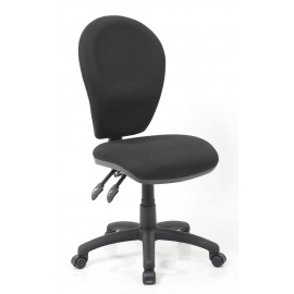 Solar II Black Task Operator Chair