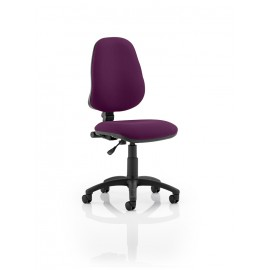 Eclipse I Lever Task Operator Chair Bespoke Colour Purple