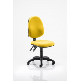 Eclipse II Lever Task Operator Chair Bespoke Cherry