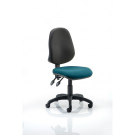 Eclipse II Lever Task Operator Chair Bespoke Colour Seat