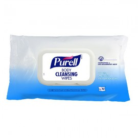 Purell Body Cleansing Wipes Pack Of 70 94004-12-EEU