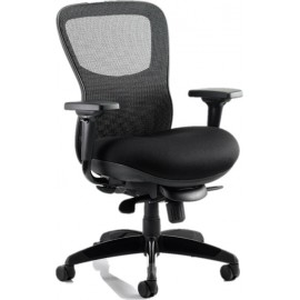 Stealth Shadow Ergo Posture Chair Airmesh Seat Mesh Back With Arms