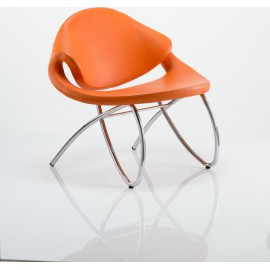 Beau Visitor Chair Orange