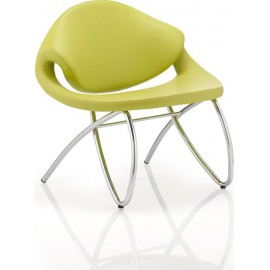 Beau Visitor Chair Green