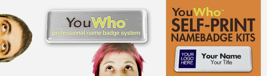 YouWho™ Badge Starter Kit