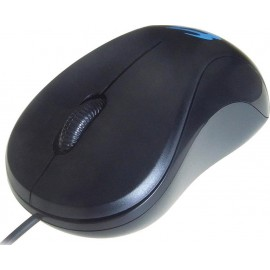 Computer Gear 3 Button Optical Scroll Mouse Black 24-0542