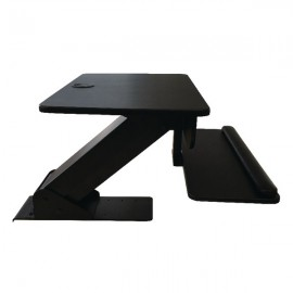Contour Ergonomics Sit Stand Workstation Black CE77691