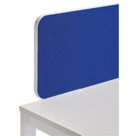 Jemini Straight Rounded Corner Screen White Trim Blue 1400mm KF74261