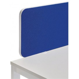 Jemini Straight Rounded Corner Screen White Trim Blue 1200mm KF74260
