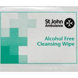 St John Ambulance Sterile Cleansing Wipes (Pack of 100) F11510