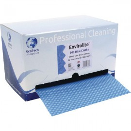 Envirolite Blue Cloth Dispenser 240x360mm ELR1800DIS