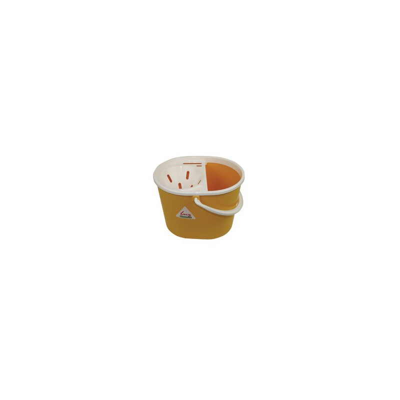 Yellow LUCY L1405294 Mop Bucket 15 L