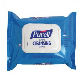 Purell Skin Cleansing Wipes Pack of 100 93002-48-EEU