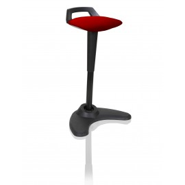 Spry Stool Black Frame Bespoke Colour Seat