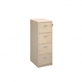 Deluxe executive four drawer filing cabinet