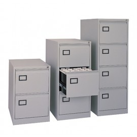 Dams 2 drawer executive filing cabinet