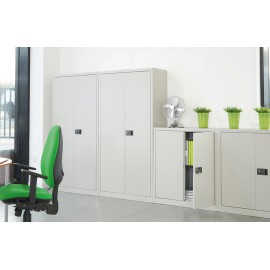 Dams steel cupboard with 1 shelf