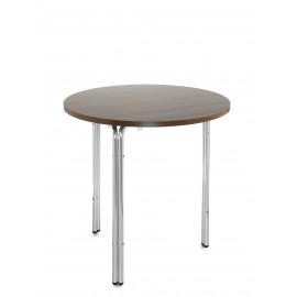 Nice aluminium stacking round table