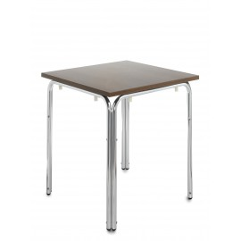 Nantas aluminium stacking square table