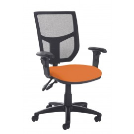 Altino high back operator chair with adjustable arms