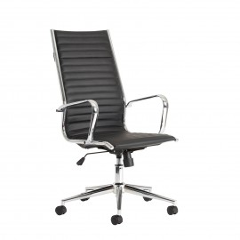Bari Black high back executive chair