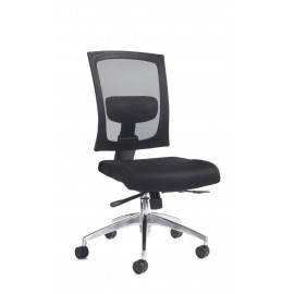 Gemini mesh 300 series task chair chrome base