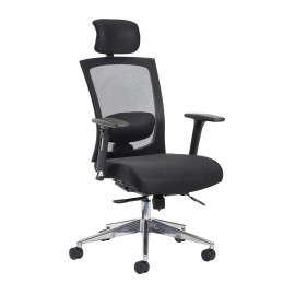 Gemini 300 series task chair with adjustable arms and headrest