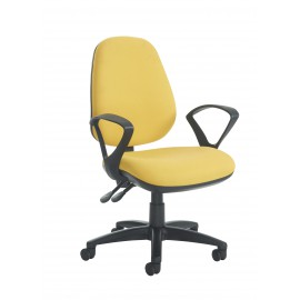 Jota high back operator chair fixed arms