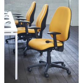 Jota high back operator chair adjustable arms