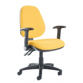 Jota high back operator chair folding arms