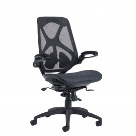 Napier mesh chair with mesh seat