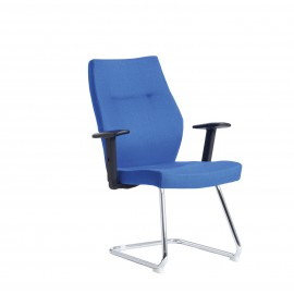 Sefton fabric visitors chair