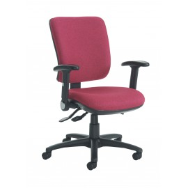Senza high back folding arms