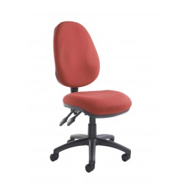 Vantage 100 fabric operator chair with no arms
