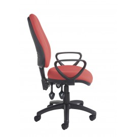 Vantage 200 operator chair with fixed arms