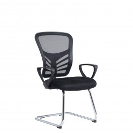 Vantage mesh back visitors chair