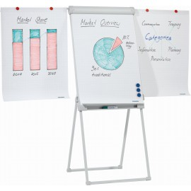 Flipchart Deluxe Standard Tetrapod With 2 Extensions