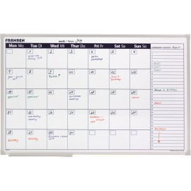 Monthly Planner Day Grid