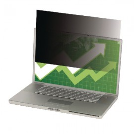 3M Black Privacy Filter For Laptops 13.3in Widescreen 16:10 PF13.3W