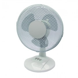 Q-Connect 2-Speed Desktop Fan 230mm/9 Inch KF00402