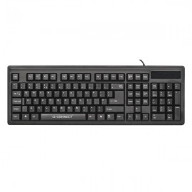 Q-Connect Keyboard Black KF00779
