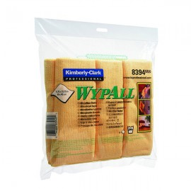 Wypall Yellow Microfibre Cloth (Pack of 6) 8394
