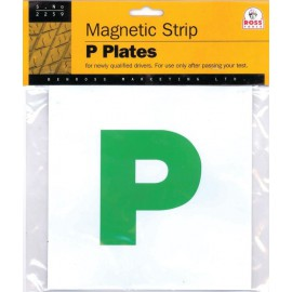 Benross 2-Pack Magnetic P Plates 7589748
