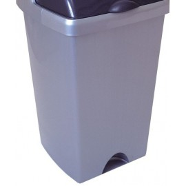Addis 24 Litre Rolltop Bin Base Metallic 9751MET