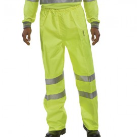 Hi-Viz Trousers EN ISO20471 S/Yellow Medium BITSYM