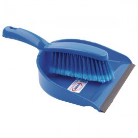 Blue Dustpan and Brush Set 102940BU