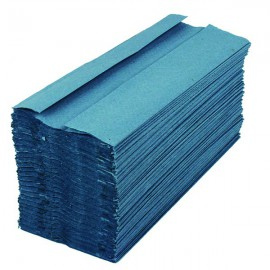 2Work Blue 1-Ply C-Fold Hand Towel (Pack of 2880) HC128BLVW