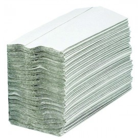 2Work White 1-Ply C-Fold Hand Towel (Pack of 2880) HC128WHVW