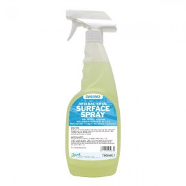 2Work Antibacterial Sanitiser Spray 750ml 2W03983