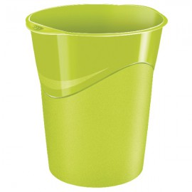 CEP Pro Gloss Green Waste Bin 280GGREEN